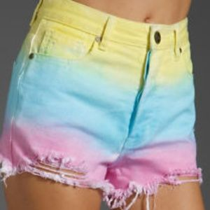 Unif Guess What Shorts in cotton candy size 25
